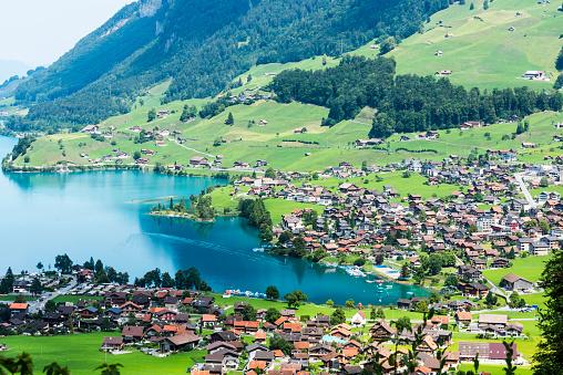 2018「Lakescape of Lake Lucerne, Burglen Town in nidwalden canton, Switzerland」:スマホ壁紙(19)