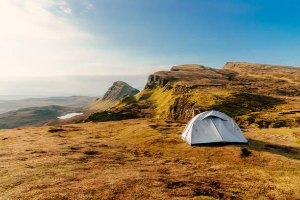 Camping, Isle of Skye, Scotland:スマホ壁紙(壁紙.com)