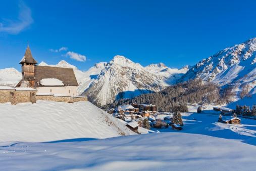 Arosa「Ski resort Arosa in Grisons, Switzerland」:スマホ壁紙(7)