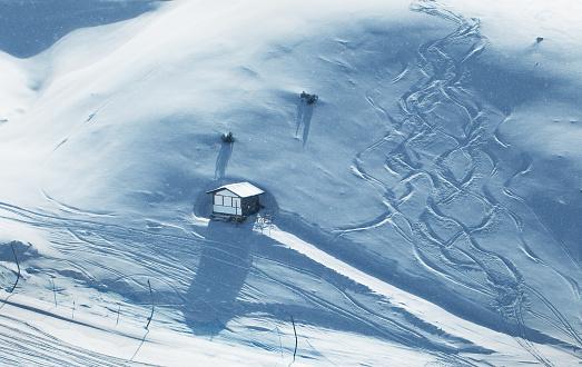 スキー「スキーリゾート」:スマホ壁紙(4)