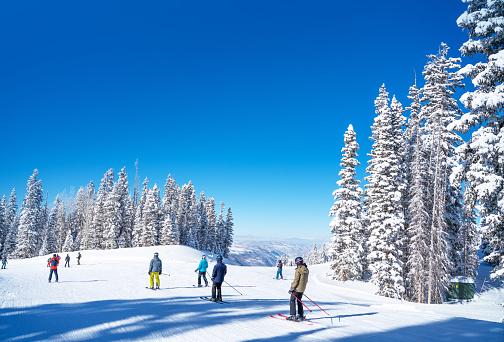 Ski Resort「Ski resort Colorado USA」:スマホ壁紙(13)