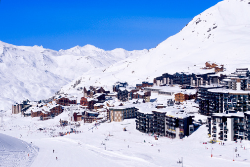 Val Thorens「Ski resort of Val Thorens, France」:スマホ壁紙(3)