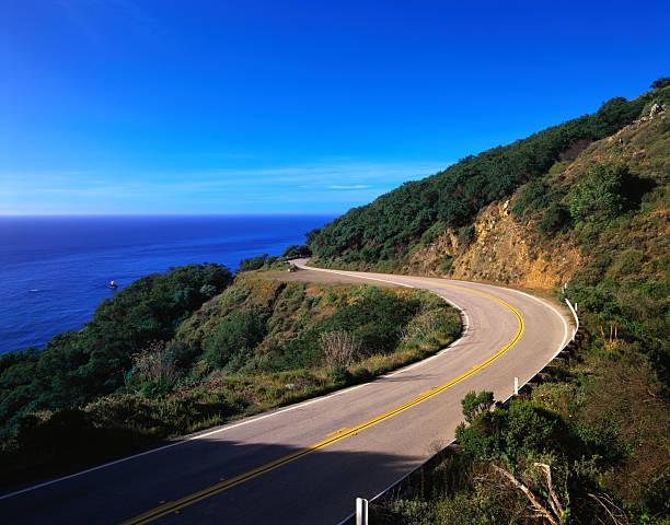 Highway Along the California Coast:スマホ壁紙(壁紙.com)