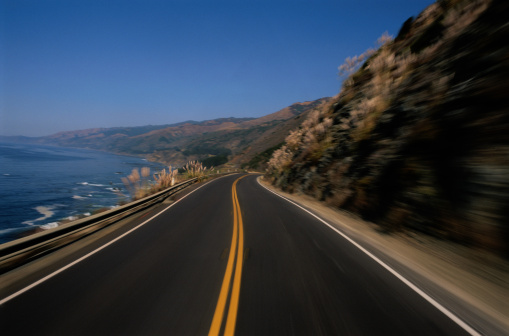 California State Route 1「Highway Along the Ocean」:スマホ壁紙(8)