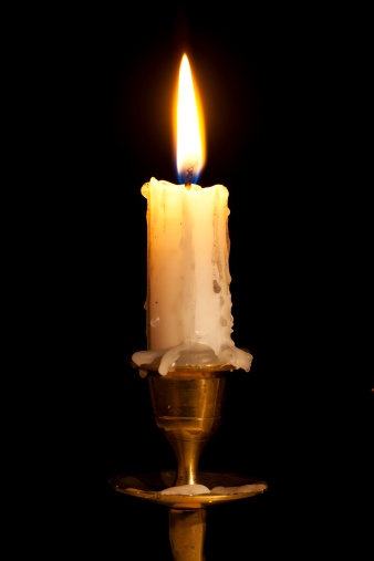 Burnt「Candle on Copper Holder」:スマホ壁紙(15)