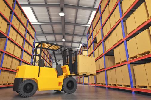 Rack「Forklift In Warehouse」:スマホ壁紙(0)