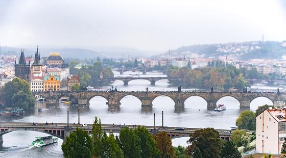 Charles Bridge「beauty cityscapes of Prague,Czech Repubilc」:スマホ壁紙(2)