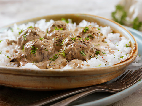 Jasmine Rice「Swedish Meatballs with Rice」:スマホ壁紙(4)
