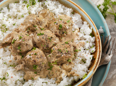 Jasmine Rice「Swedish Meatballs with Rice」:スマホ壁紙(5)