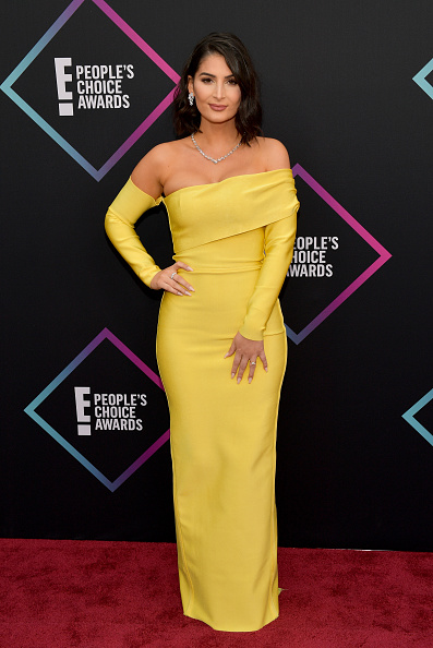 Yellow Dress「People's Choice Awards 2018 - Arrivals」:写真・画像(1)[壁紙.com]
