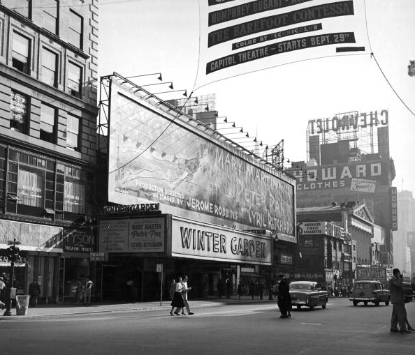 Broadway - Manhattan「Winter Garden Marquee 」:写真・画像(11)[壁紙.com]