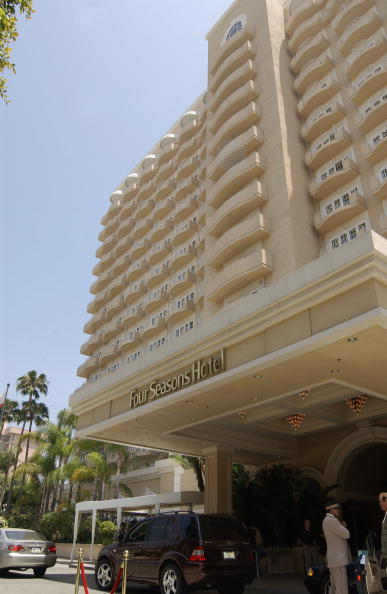 ビバリーヒルズ「Four Seasons Hotel In LA」:写真・画像(0)[壁紙.com]