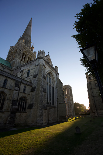 Chichester「Exterior view of Chichester cathedral, West Sussex, England,」:スマホ壁紙(16)