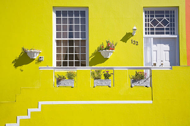 Colourful home in Bo Kaap, Cape Town, Western Cape Province, South Africa:スマホ壁紙(壁紙.com)