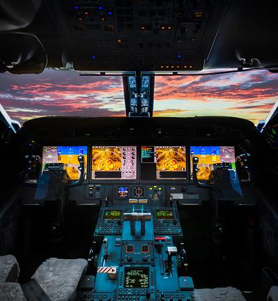 Mid-Air「Plane cockpit」:スマホ壁紙(13)