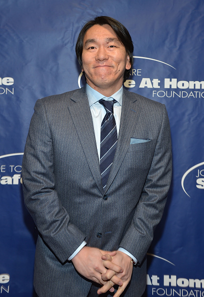 Hideki Matsui「Joe Torre Safe At Home Foundation's 10th Anniversary Gala」:写真・画像(2)[壁紙.com]