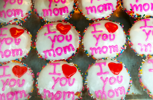 Mother's Day「Cupcakes」:スマホ壁紙(11)