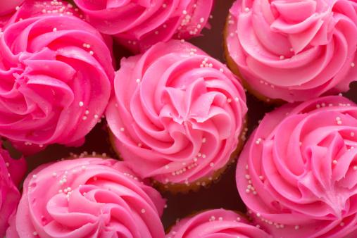 ガーリー「カップケーキ」:スマホ壁紙(1)