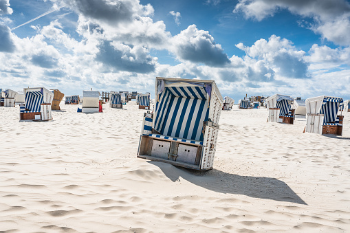 St「St. Peter-Ording Hooded Beach Chairs Nordsee Germany」:スマホ壁紙(0)