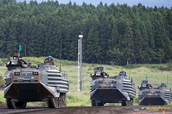 Mode of Transport「Japan Ground Self-Defense Force Live Fire Exercise」:写真・画像(13)[壁紙.com]