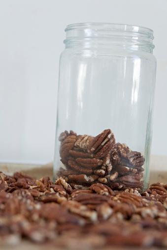 ペカン「Pecan nuts」:スマホ壁紙(6)