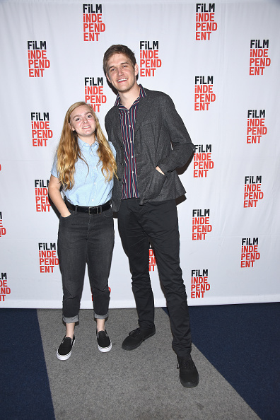 黒のパンツ「Film Independent At The WGA Theater Presents Screening And Q&A Of 'Eighth Grade'」:写真・画像(18)[壁紙.com]