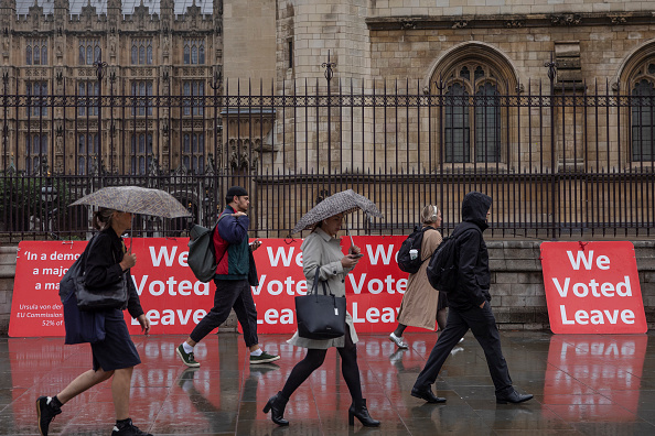 Brexit「MPs Return To Parliament Following Supreme Court Ruling」:写真・画像(10)[壁紙.com]
