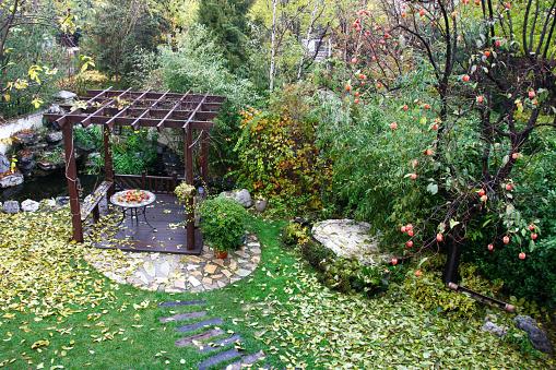 Persimmon「Garden pavilion」:スマホ壁紙(15)