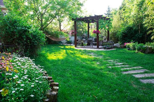造園「Garden pavilion」:スマホ壁紙(6)