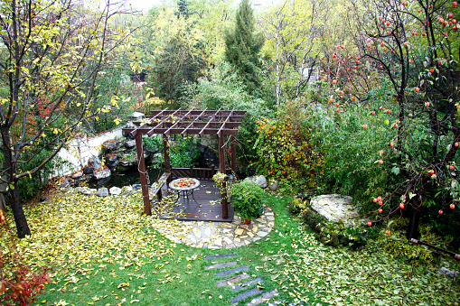 Persimmon「Garden pavilion」:スマホ壁紙(13)