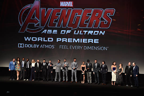 "World Premiere Of Marvel's ""Avengers: Age Of Ultron"" - Red Carpet:ニュース(壁紙.com)"