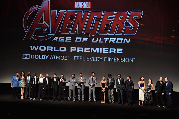 "Avengers Age of Ultron「World Premiere Of Marvel's ""Avengers: Age Of Ultron"" - Red Carpet」:写真・画像(1)[壁紙.com]"