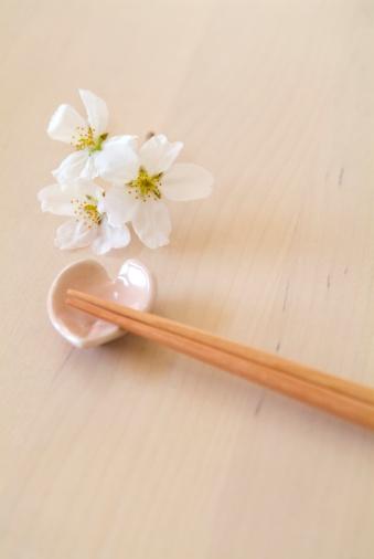 Cherry Blossom「Cherry blossoms and chopsticks」:スマホ壁紙(17)