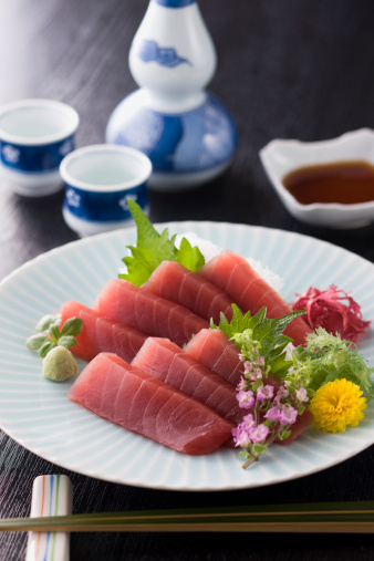 Sake「Lean Tuna Sashimi」:スマホ壁紙(10)