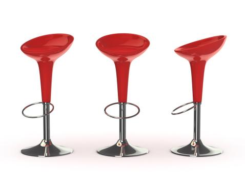 Stool「red bar chair」:スマホ壁紙(15)