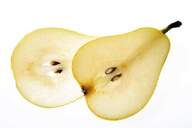 Slices of pear, close-up:スマホ壁紙(壁紙.com)