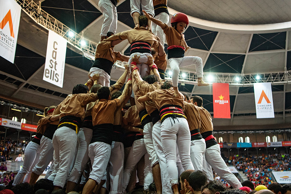 David Ramos「Human Towers Are Built In The Tarragona Castells Competition」:写真・画像(10)[壁紙.com]
