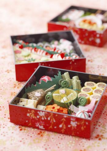 お花見「Japanese box lunch」:スマホ壁紙(18)