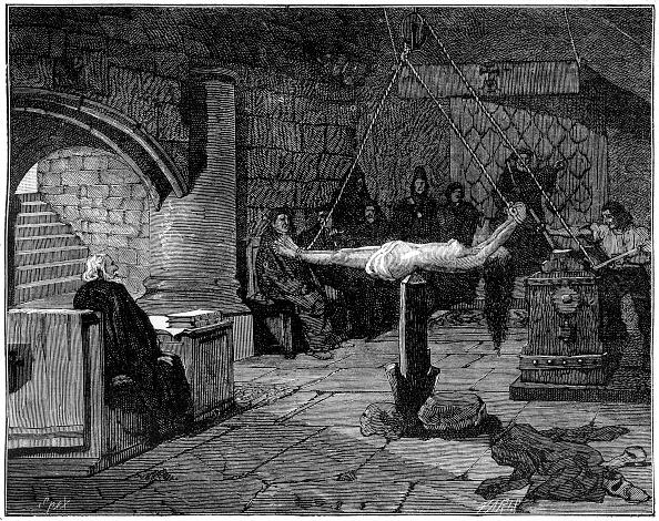 女「The 'question extraordinaire', extreme form of torture, 1882-1884.」:写真・画像(14)[壁紙.com]