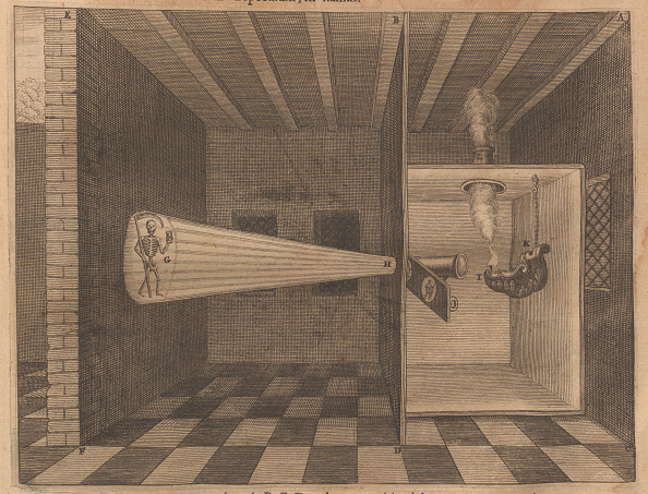Projection Equipment「Magic Lantern Showing Death (From Ars Magna Lucis)」:写真・画像(15)[壁紙.com]