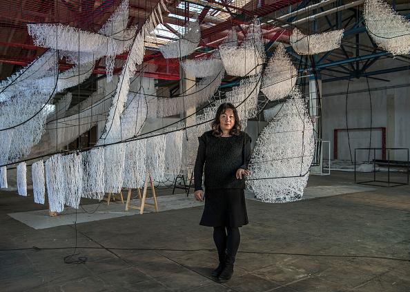 Installation Art「Chiharu Shiota」:写真・画像(16)[壁紙.com]