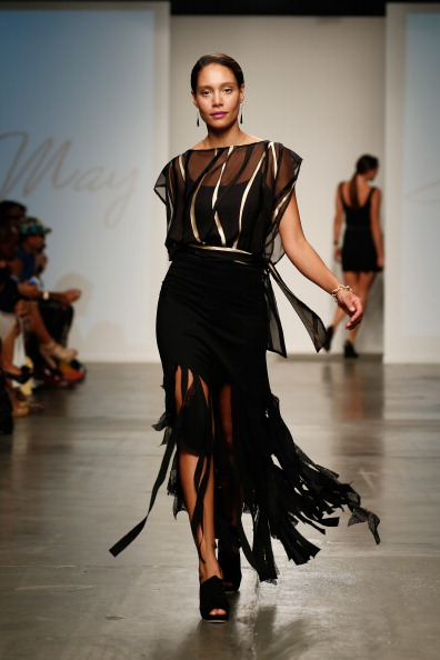 Focus On Foreground「Nolcha Fashion Week New York Presented by RUSK During New York Fashion Week Spring/Summer 2014 Runway - Stacie May」:写真・画像(1)[壁紙.com]