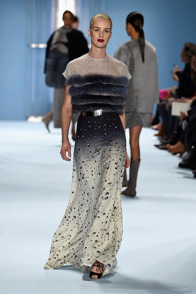 Silver Colored「Carolina Herrera - Runway - Mercedes-Benz Fashion Week Fall 2015」:写真・画像(14)[壁紙.com]