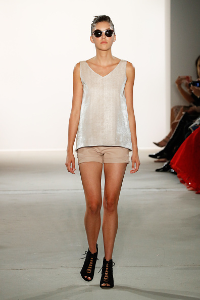Cream Colored Shorts「Maisonnoee Show - Mercedes-Benz Fashion Week Berlin Spring/Summer 2018」:写真・画像(15)[壁紙.com]