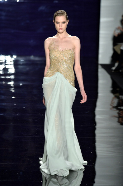 Two Tone - Color「Reem Acra - Runway - Mercedes-Benz Fashion Week Fall 2014」:写真・画像(14)[壁紙.com]