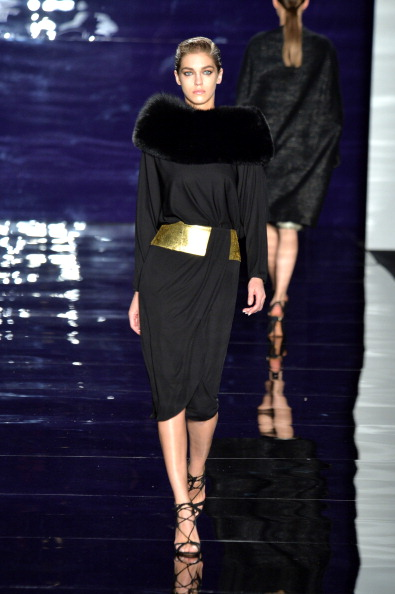 Strappy Shoe「Reem Acra - Runway - Mercedes-Benz Fashion Week Fall 2014」:写真・画像(19)[壁紙.com]
