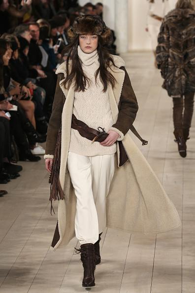 Brown Boot「Ralph Lauren - Runway - Mercedes-Benz Fashion Week Fall 2015」:写真・画像(12)[壁紙.com]