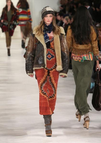 Ikat「Ralph Lauren - Runway - Mercedes-Benz Fashion Week Fall 2014」:写真・画像(2)[壁紙.com]