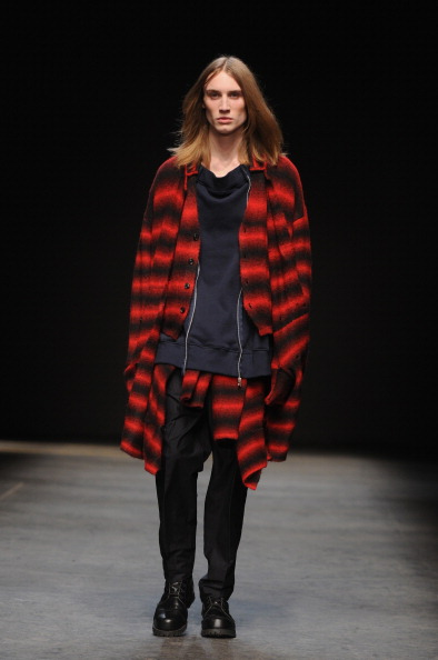 ロングヘア「Casely-Hayford: Runway - London Collections: Men AW14」:写真・画像(18)[壁紙.com]