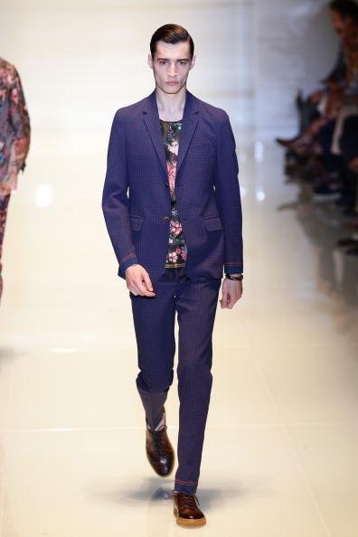 Blue Pants「Gucci - Runway - MFW S/S 2014」:写真・画像(3)[壁紙.com]